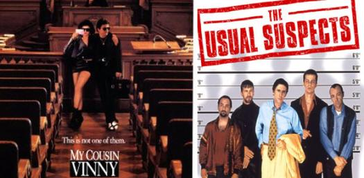 """The Usual Suspects"" (Full) And ""My Cousin Vinny"" (Partial)"