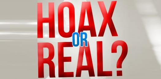 Real Or Hoax Test