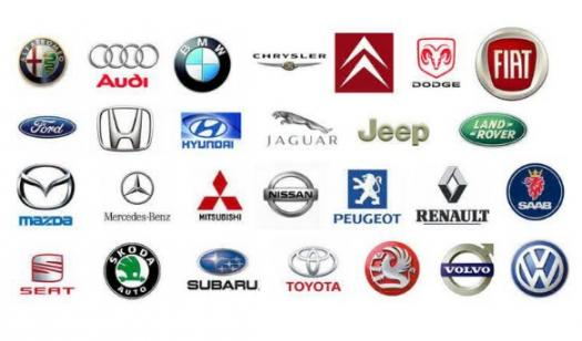 Popular Car Companies In The S