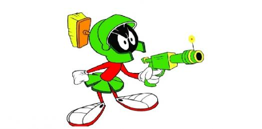 How Much Like Marvin Martian Are You?