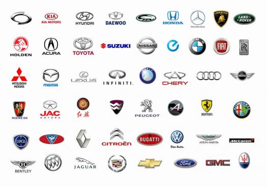 Identify Which Car Is What Brand