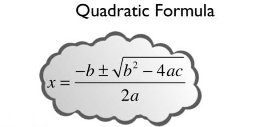 quadratic formula quiz questions proprofs quiz