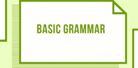 Some Basic Grammar Quiz Questions