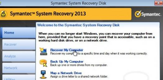 Image result for Symantec System Recovery