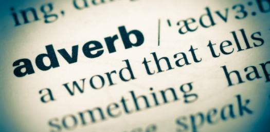 Headline for dating sites examples of adverbs