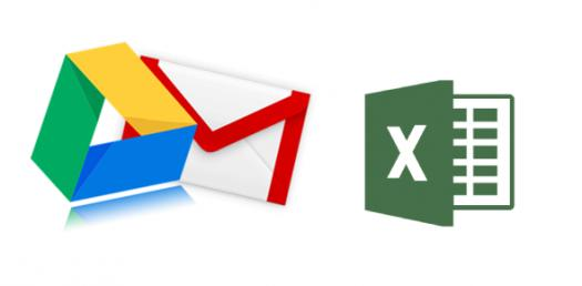 Gmail / Google Drive / Excel