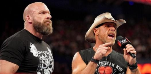 WWE Dx Triple H And Shawn Michaels