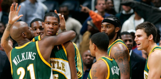 NBA - Seattle Supersonics Trivia