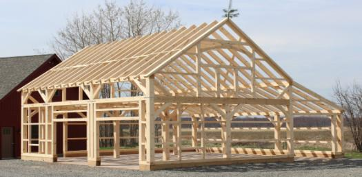 Timber Framing In The Kettle River Watershed
