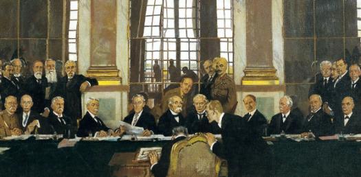Treaty Of Versailles Quiz