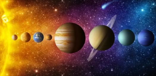 8 Planets In The Solar System