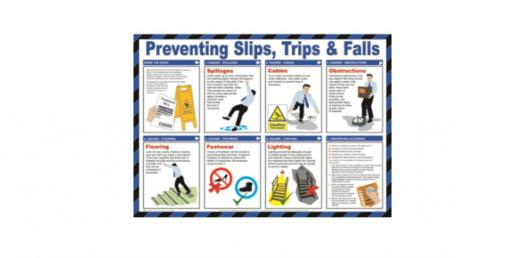 Prevention Of Slips, Trips And Falls! Trivia Questions Quiz