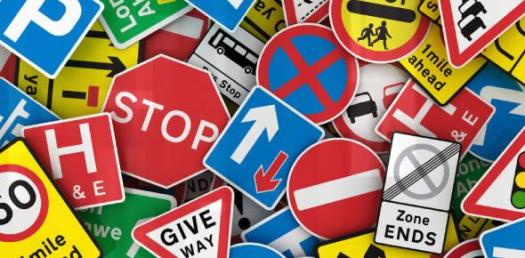 Road Safety Warning Signs Trivia Questions Quiz