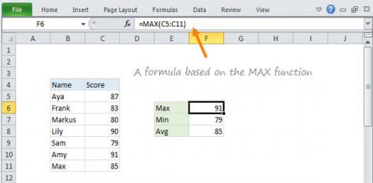 Excel Functions Quiz