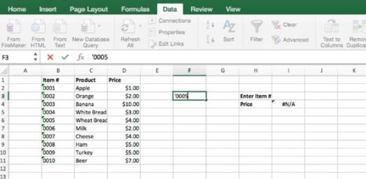 Microsoft Excel Pre-test For Secondary One