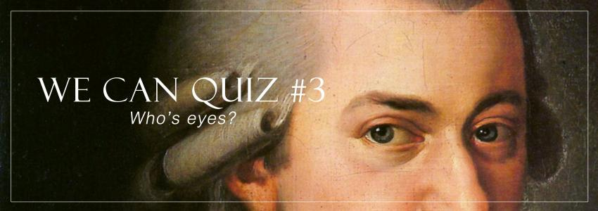 Which Composer Does This Pair Of Eyes Belong To?