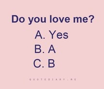 does anyone love me quiz
