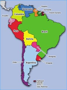 South America Population Quiz ProProfs Quiz - Argentina map quiz