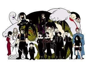 Fairy Tail, Soul Eater, Fullmetal Alchemist, and Death Note.