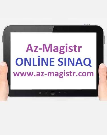 Online Magstr Sinaq mtahani 1