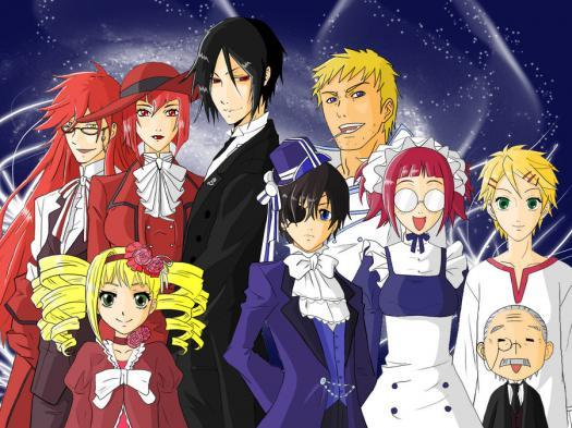 Black Butler Quiz- Which Character Are You?