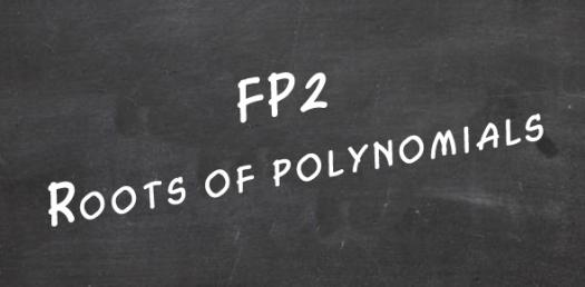 Roots Of Polynomial Equations