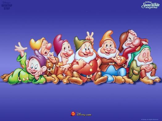 What Are The 7 Dwarfs Names?