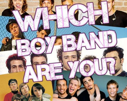 Which Boy Band Are You?