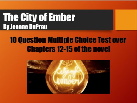 City Of Ember Ch. 12-15