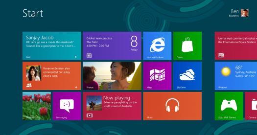 Windows 8 Quiz- 2012