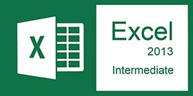Excel Intermediate 2013