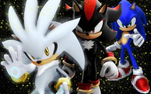 Shadow And Silver The Hedgehog