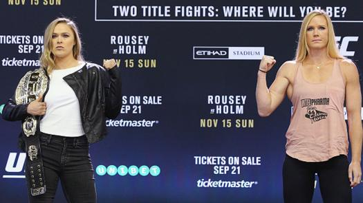 Who Are You Ronda Rousey Or Holly Holm?
