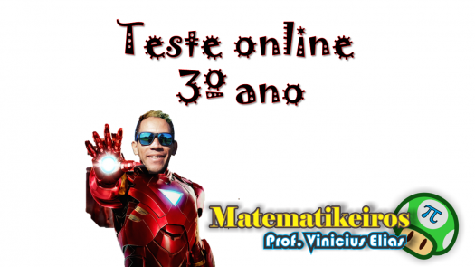 Teste Online 3� Ano - Ced Darcy Ribeiro