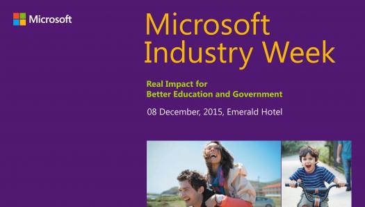 Microsoft Industry Week 2015
