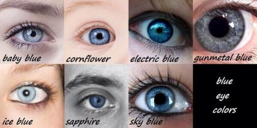 Types Of Blue Eyes - ProProfs Quiz