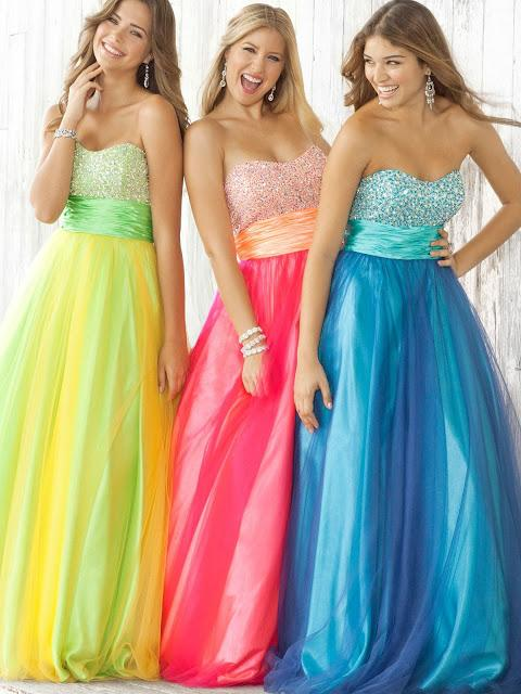 Types Of Prom Dresses