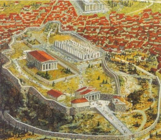Greece Rise Of The City-state - Athens