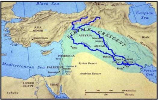 Mesopotamia Geography