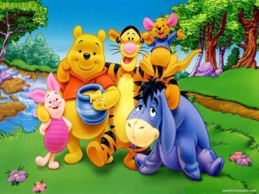 Winnie The Pooh Characters!
