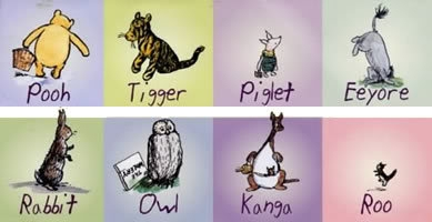 winnie the pooh characters disorders proprofs quiz