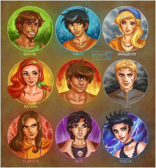 Which Heroes Of Olympus Character Are You?