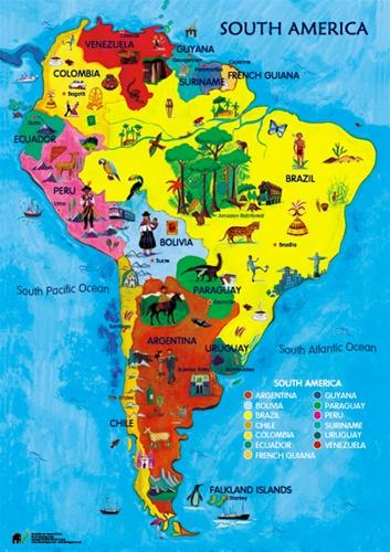 Do You Know Flags Of South America ?