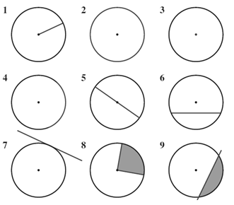 Circle Theorems Practice Homework (Review For Quiz)