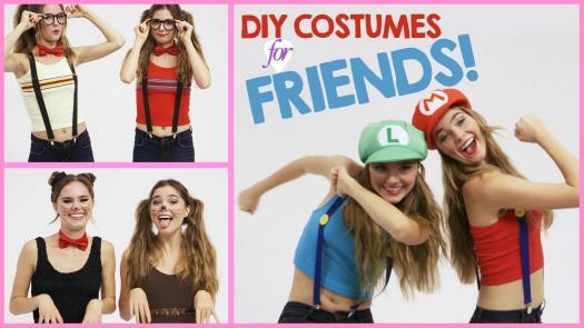 cute best friend halloween costumes - Cute Bff Halloween Costumes