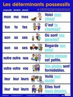 Possessive Adjectives French Worksheet - Checks Worksheet