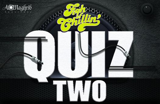 Fiqh Of Chilling Quiz 2