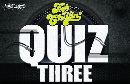 Fiqh Of Chilling Quiz 3