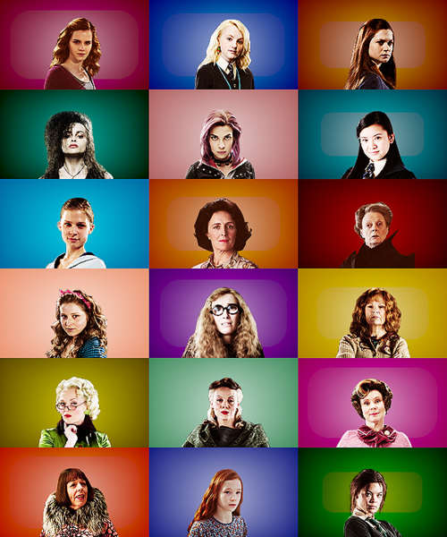 Which Harry Potter Girl Character