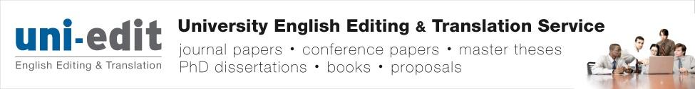 Uni-edit English Academic Writing Test (13 questions)
